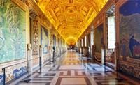 Vatikan hinter der Absperrung