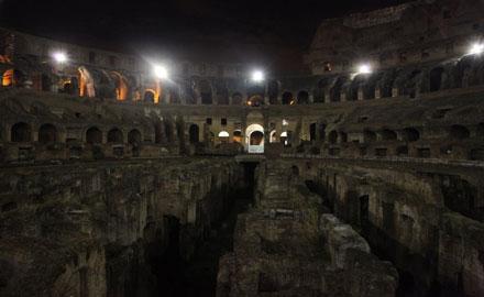 Führungen Rom - Kolosseum im Mondschein
