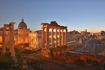 Rom Spaziergänge - das Forum Romanum
