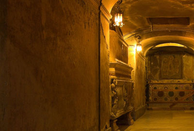 Rom Führung der Katakomben