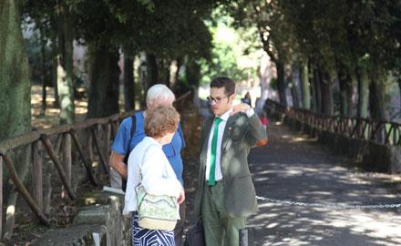 Fachkundige deutschsprachige Rom-Reiseleiter