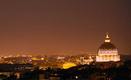 Vatikan-Führungen nach allen anderen - der Vatikan bei Nacht
