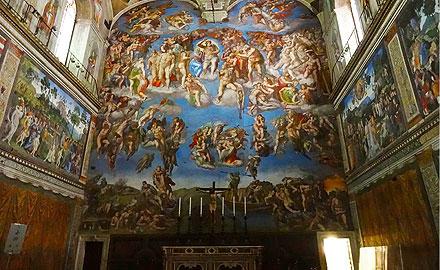 Vatikan-Führungen - Die Sixtinische Kapelle am frühen Morgen