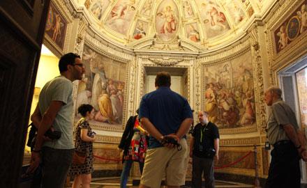 Offizielle Vatikan-Führungen - Die Sixtinische Kapelle am frühen Morgen