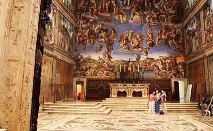 Vatikan-Führungen - Nach allen anderen in der Sixtinischen Kapelle mit IWU