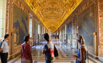 Vatikan-Führungen - Nach allen anderen in der Galerie der geografischen Karten mit IWU