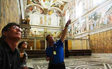 Vatikan-Führungen - Offizielle Vatikan-Führung nach allen anderen